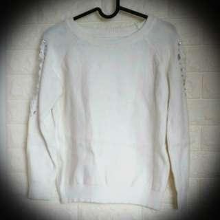 Lady white blouse #跟我一起半價出清