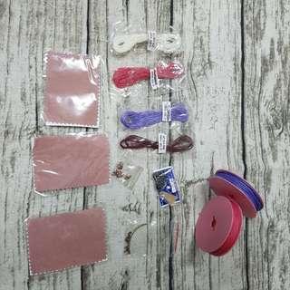 蠶絲蠟線及相關材料&拭銀布*3