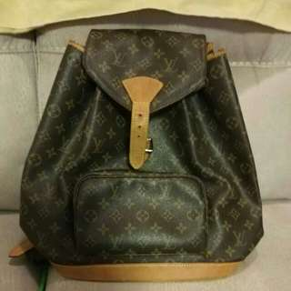 100% Authentic LV monogram backpack