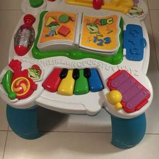 Leap frog music, learning, activity table