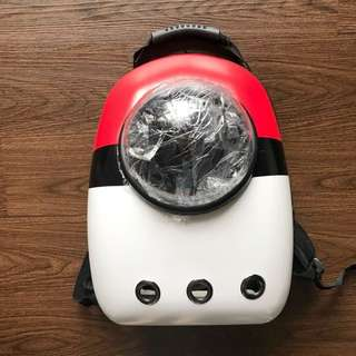 BNIP - limited edition pokeball pet carrier $54.90