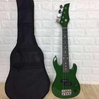 🚚 旅行綠色電貝斯(travel bass)
