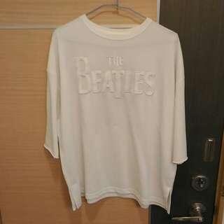 🚚 日牌 E hyphen 寬鬆上衣the beatles