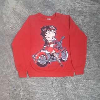 Sweater crewneck Betty Boop
