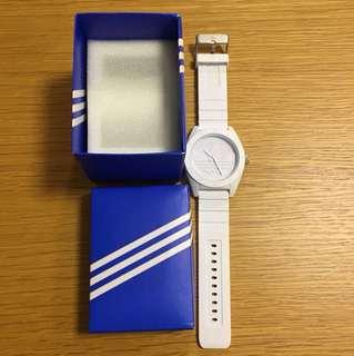 Adidas ORIGINAL 白色錶 (90%新)