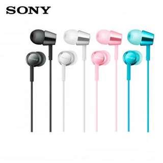 [正]索尼 入耳式耳機通用重低音帶麥