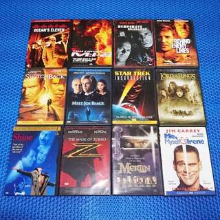 🆒 Assorted Movies DVD