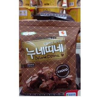 涮嘴!!巧克力千層酥(三包)韓國空運