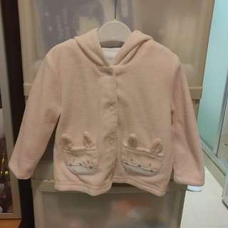 Mother Care BB 褸 (可雙面著) size 6-9 months