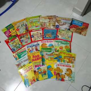 Magic school bus n Berenstain bear books