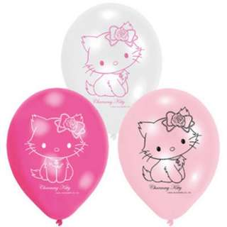 🎈Birthday Balloons - Charmmy Kitty - Girl (Pack of 6)