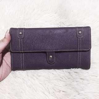 RIVIERA Genuine Leather Violet Wallet