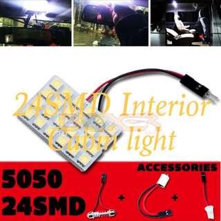 24 smd cabin light