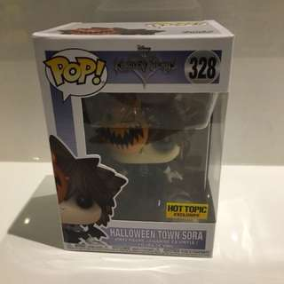 Funko Pop Vinyl Kingdom Hearts Halloween Town Sora - Hot Topic Exclusive