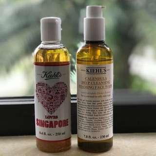 Kiehl's Calendula duo (toner and foaming face wash) FREE SAMPLES