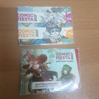 Comic Fiesta 2017 Early Bird Tickets