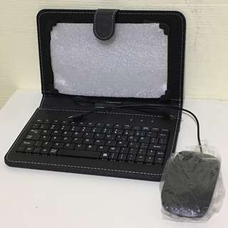 """8"""" tablet cover with keypad and mouse"""