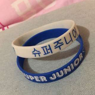 Super Junior Wtistbands