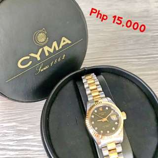 Cyma Swiss watch from HK - good condition
