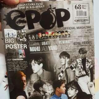 e-pop Magazine with EXO Exodus cover