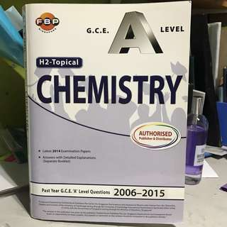 H2 Chemistry Topical TYS