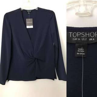 TOPSHOP BLOUSE (repriced)