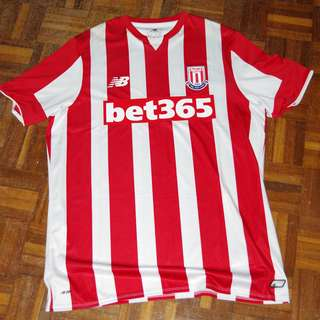 Authentic New Balance Stoke City 2015/2016 Home Jersey