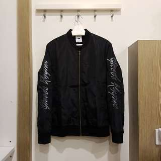 ROMP black bomber jacket