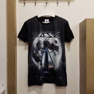 NAZA black t shirt