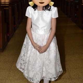 Formal dress, first communion dress