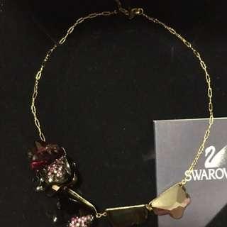 Swarovski 紫水晶choker 頸鍊