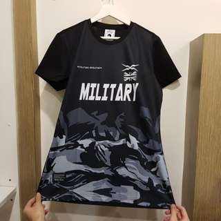 Military Half Camouflage t shirt