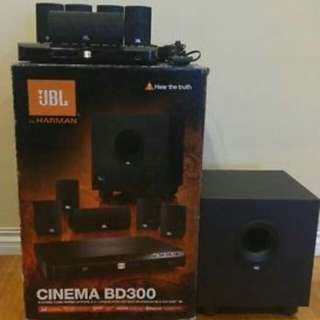 Jbl bd300 home theater