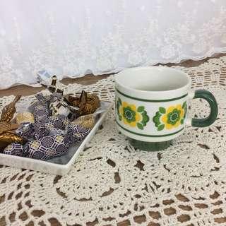 田園風陶瓷茶杯