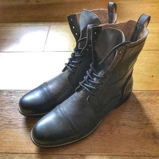 [減價]日本品牌 RAUDi work boots ( Hoax RRL Mccoy )