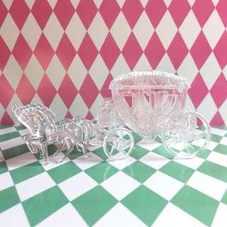 透明飾物收納馬車