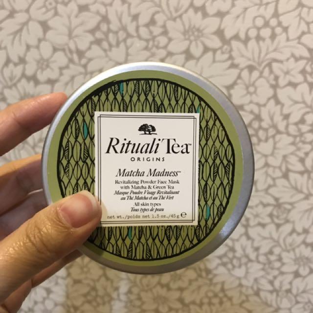 全新品木宣言愛找茶綠茶面膜