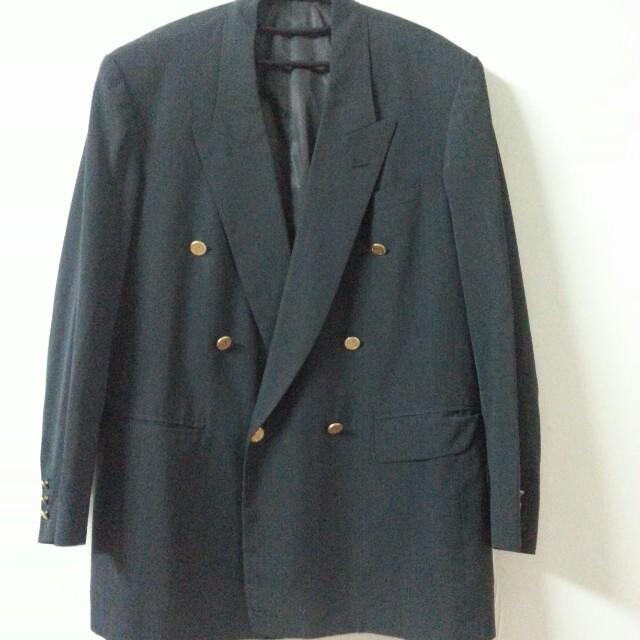 適合跑業務的朋友……多件西裝出售-深灰色整套西裝