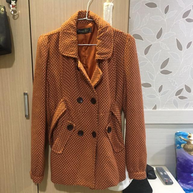 橘點點外套