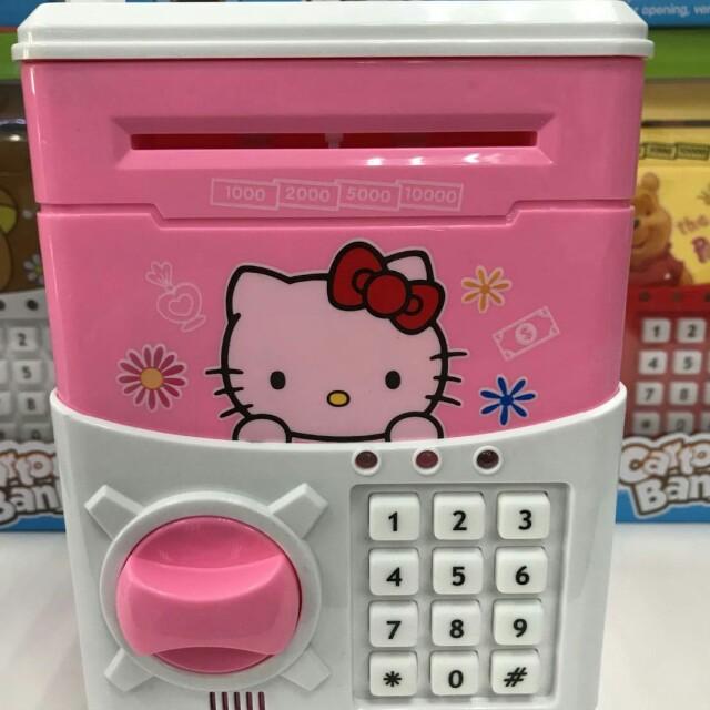 凱蒂貓密碼保險箱/兒童存錢筒