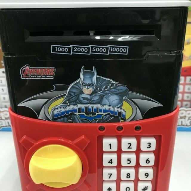蝙蝠俠密碼保險箱/兒童存錢筒