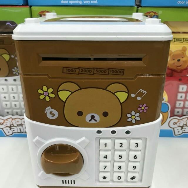 拉拉熊密碼保險箱/兒童存錢筒