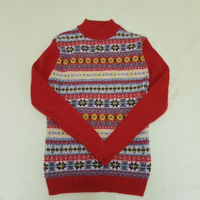 繽紛針織毛衣