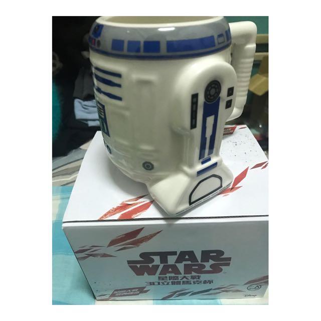 ✨全新 7-11 星際大戰 3D立體馬克杯 R2-D2款 StarWars