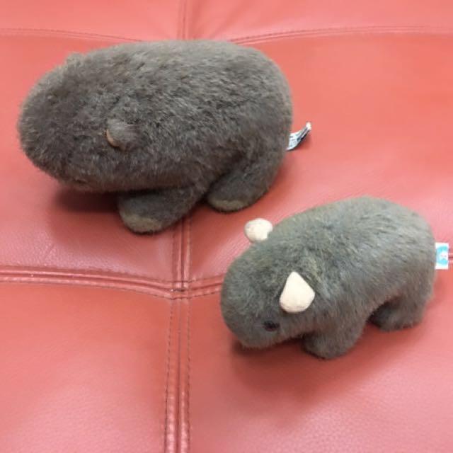 澳洲帶回 袋熊玩偶