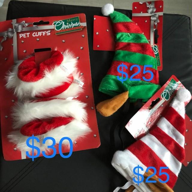 (包郵) 聖誕狗仔衫 / 衣服 / 飾物