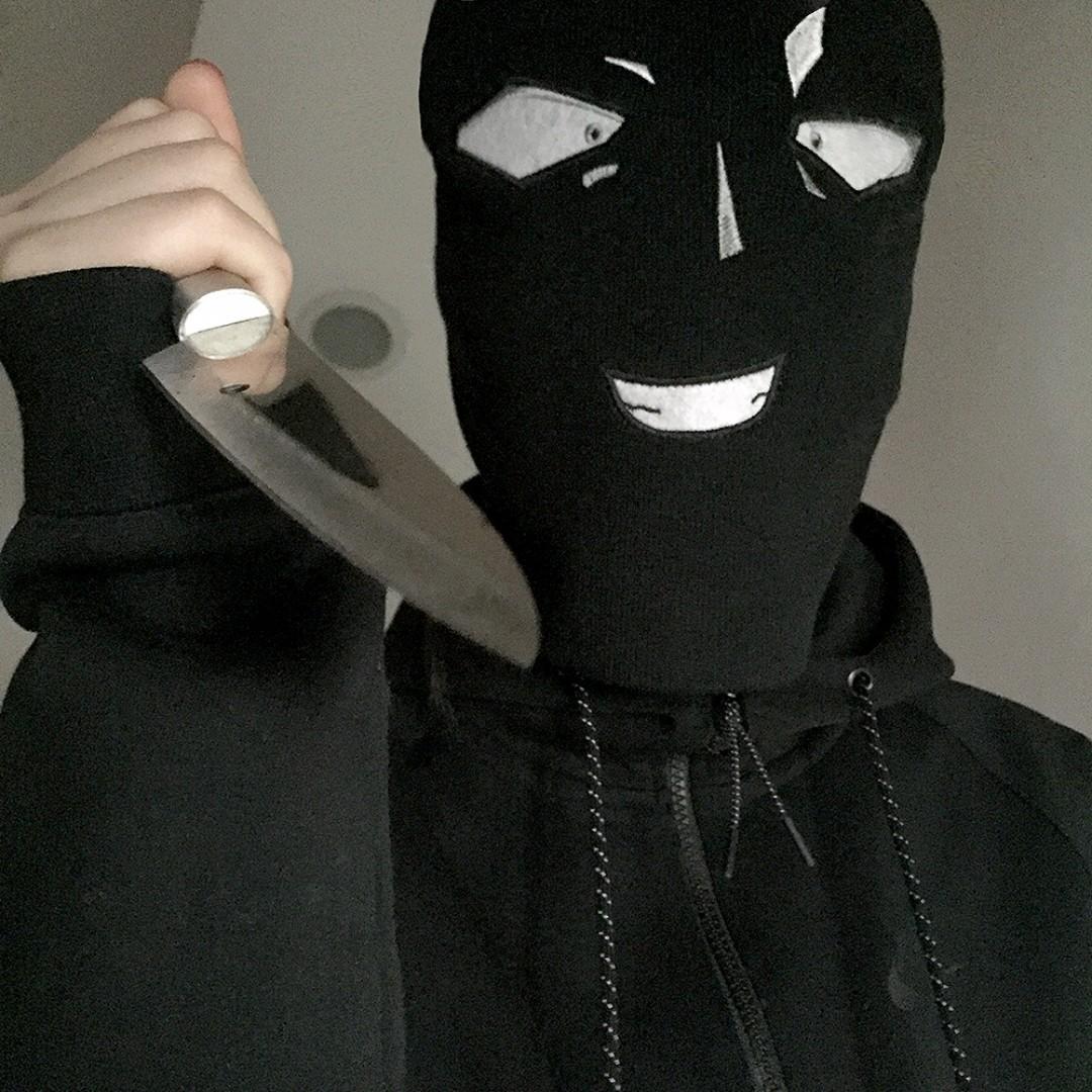 柯南殺人兇手毛帽 針織帽 童年噩夢 生日禮物 聖誕節 禮物