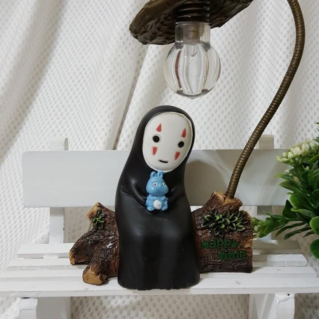 宮崎駿 神隱少女 無臉男LED小夜燈 桌燈