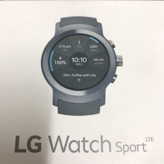 續約品 深海藍 LG Watch Sport 智慧手錶