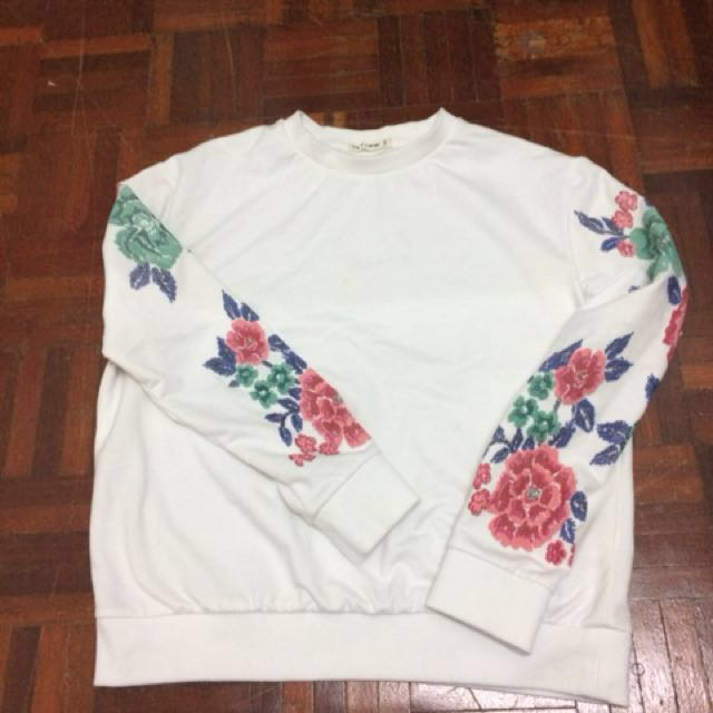 💕 Brands outlet white sweatshirts